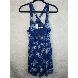 5/$25 Minkpink tie dye dress nwt.